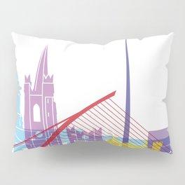 Dublin skyline pop Pillow Sham