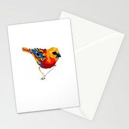 Madagascar Fody - White Stationery Cards