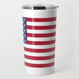 USA National Flag Authentic Scale G-spec 10:19 Travel Mug