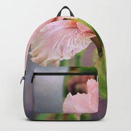 Lovely Pink Iris Backpack
