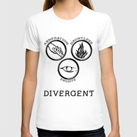 divergent T-shirts featuring Divergent (Black) by Lunil