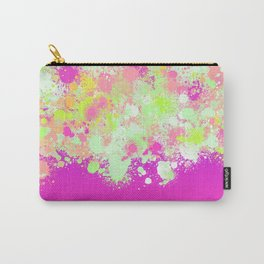 paint splatter on gradient pattern pgoi Carry-All Pouch