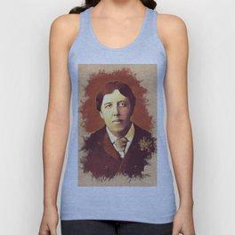 Oscar Wilde, Literary Legend Unisex Tank Top