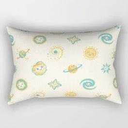 Pastel space pattern Rectangular Pillow