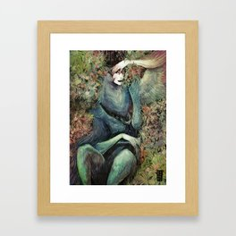 Happy Harpy Framed Art Print