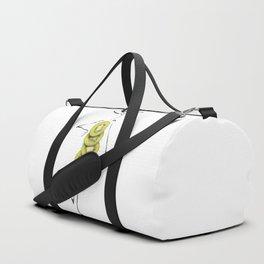 Edible Ensembles: Kiwi Duffle Bag
