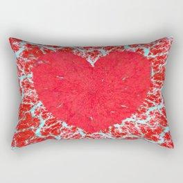 Frosty heart Rectangular Pillow