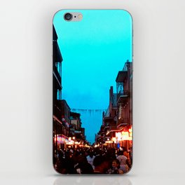 New Orleans Bourbon Street Dusk iPhone Skin