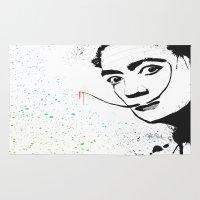 dali Area & Throw Rugs featuring Dali by Cynthia Alvarez