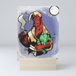 Bedtime Red Mini Art Print