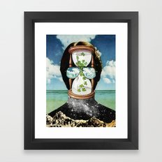 All It Remains - PAINTING Framed Art Print