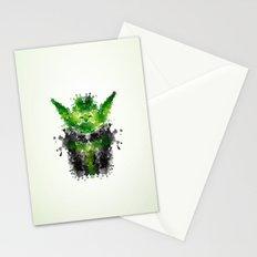 Rorschach Yoda Stationery Cards