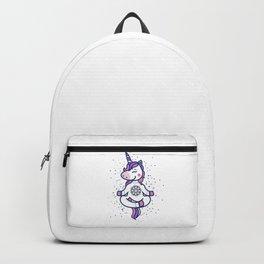 unicorn meditation Backpack