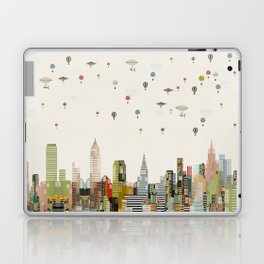 the great wondrous balloon race Laptop & iPad Skin