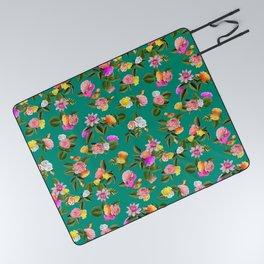 Frida Floral Picnic Blanket