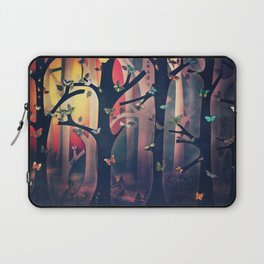 The Woods at Sunset Laptop Sleeve