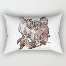 Owls of the Northeast Rectangular Pillow