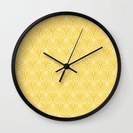 Column Pattern Wall Clock