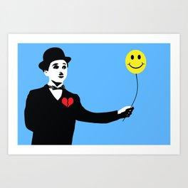 Silent Prodigy - Charlie Chaplin Art Print