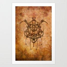 Zodiac:  Aquarius Art Print