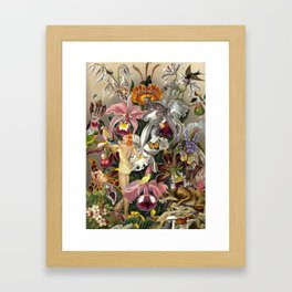 AISHA Framed Art Print