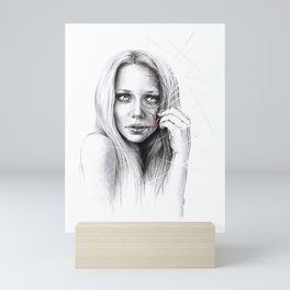 Self-destruction: expose Mini Art Print