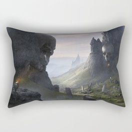 The Flame of Helheim Rectangular Pillow