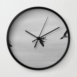 Pelican Flight Study Wall Clock