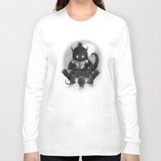 Story Time (black and white option) Long Sleeve T-shirt