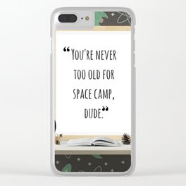 Stranger than fiction part 1 Clear iPhone Case