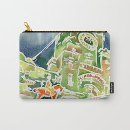 Watercolour of Liverpool Carry-All Pouch