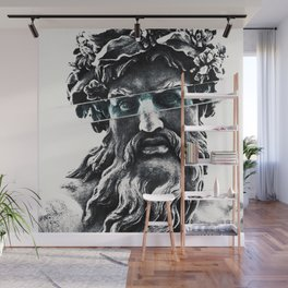 Zeus the king of gods Wall Mural