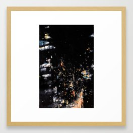 Suspended Mid-Air on the Roosevelt Island Tramway Framed Art Print