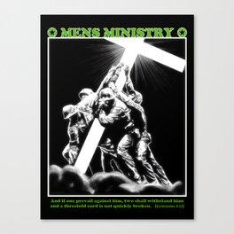 Mens Ministry  Canvas Print