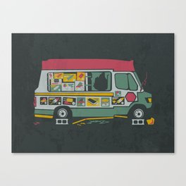 Disappointed Summer Canvas Print