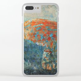 Moths 4 Clear iPhone Case