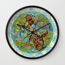 Kelp Forest Wall Clock