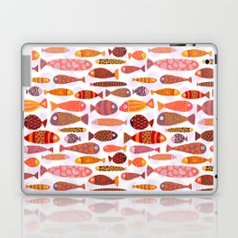 School of tropical fish pattern Laptop & iPad Skin