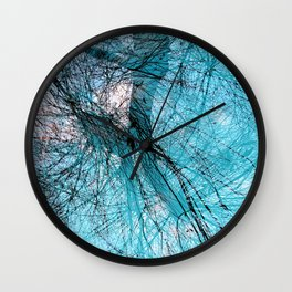 Wire Willows Wall Clock