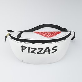 I Love Meat Lover's Pizzas Fanny Pack