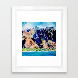 Na Pali Coast Framed Art Print
