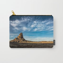 Somewhere In Time - Western Scenery of Agaltha Peak in Northern Arizona Carry-All Pouch