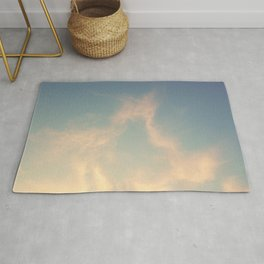 Wandering in the clouds Rug