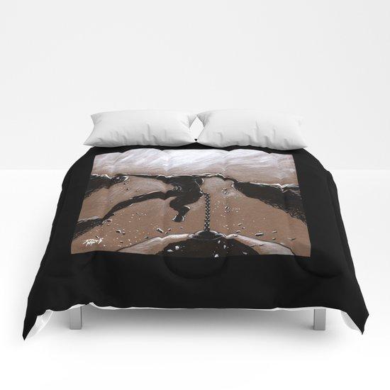 Hanging On  Comforters