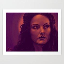 Lady Sif Art Print