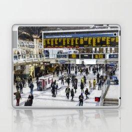 London Train Station Art Laptop & iPad Skin