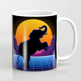 Elephant Retro Vintage Style Lover - Elephant Girl Coffee Mug