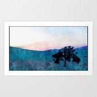 California Tree Art Print