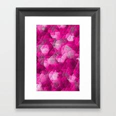 Glance Framed Art Print