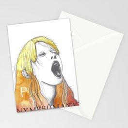 Nymphomaniac P Stationery Cards
